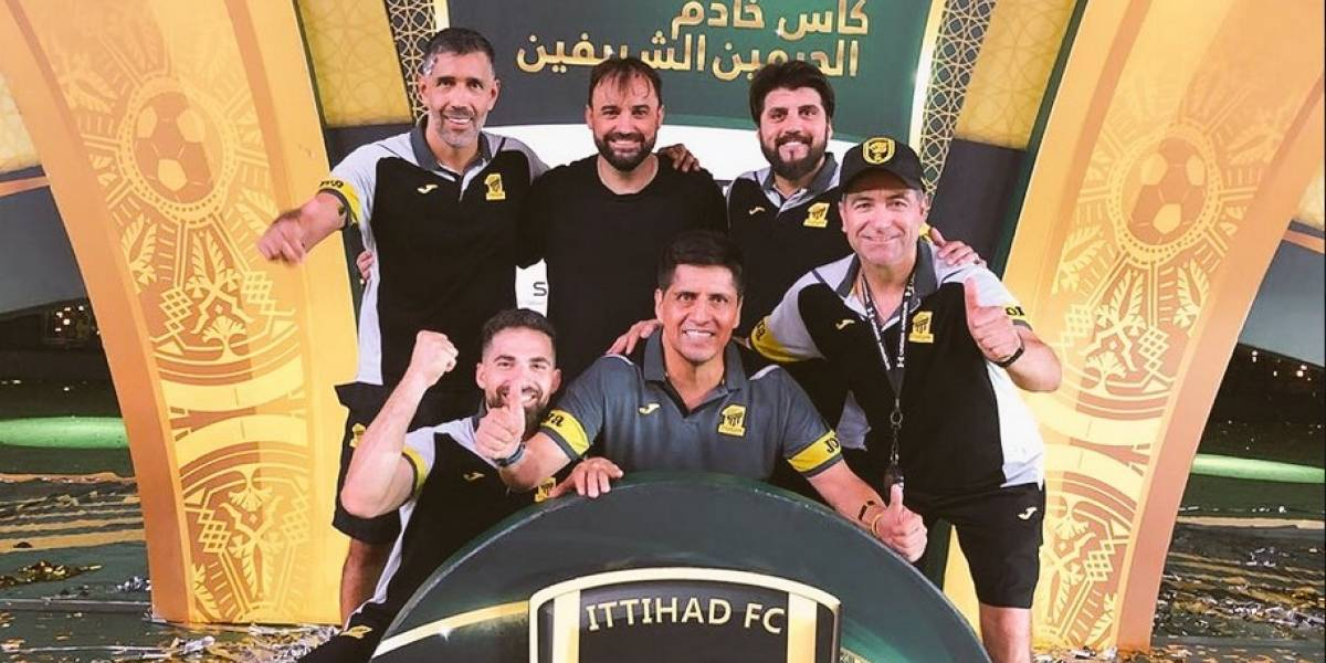 José Luis Sierra se consagra campeón en Arabia Saudita