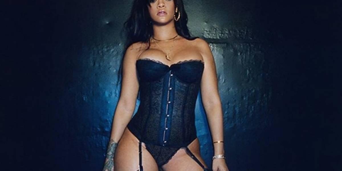 Rihanna lanzó lencería modelada por ella mismo