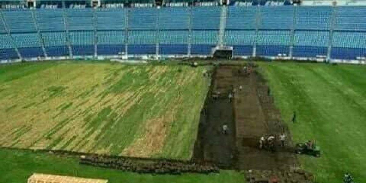 Éstas son las fotos del supuesto inicio de demolición del Estadio Azul