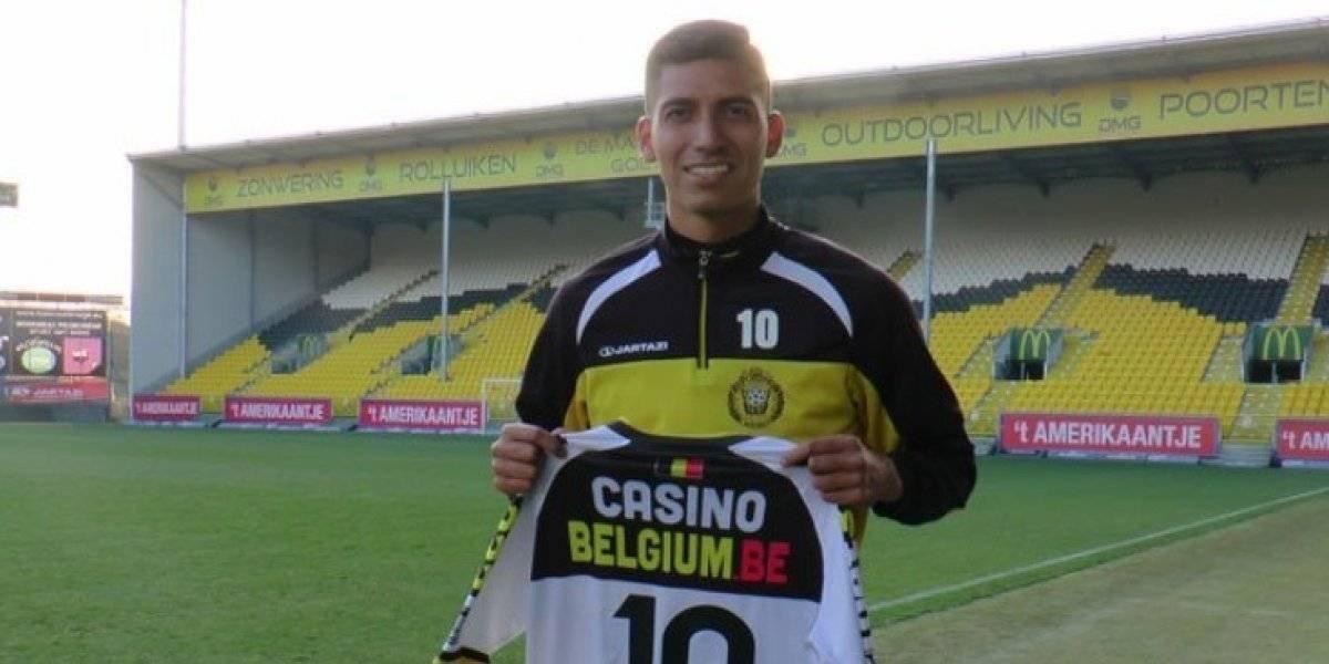 José Francisco Cevallos Jr.  anota su cuarto gol en el fútbol Belga