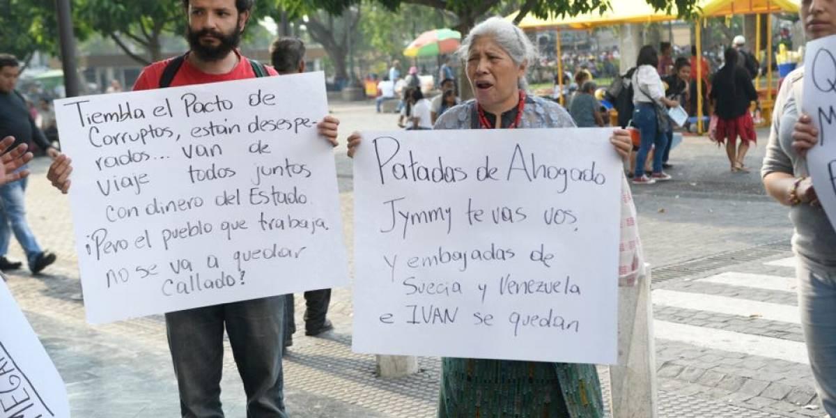 Las frases más destacadas de la manifestación de este sábado en la Plaza de la Constitución