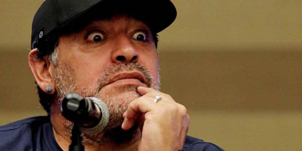 Maradona entrena al ritmo del reggaetton
