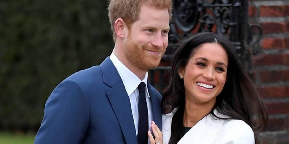 Dónde y cuándo ver en vivo la boda del príncipe Harry y Meghan Markle