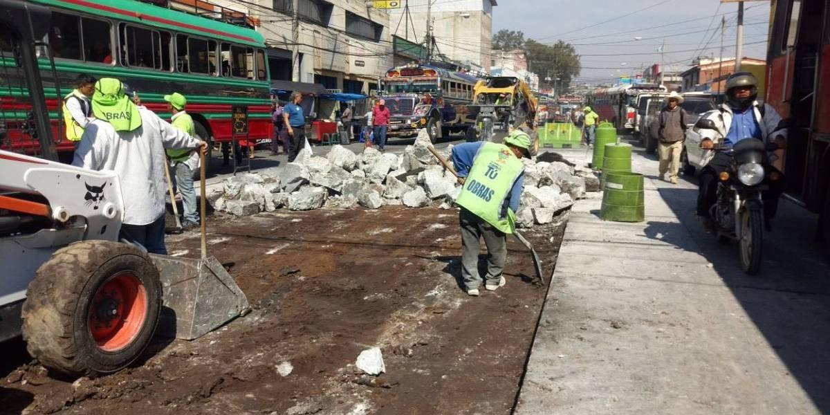 Drenajes y tránsito, estos son los trabajos más recientes de la Municipalidad