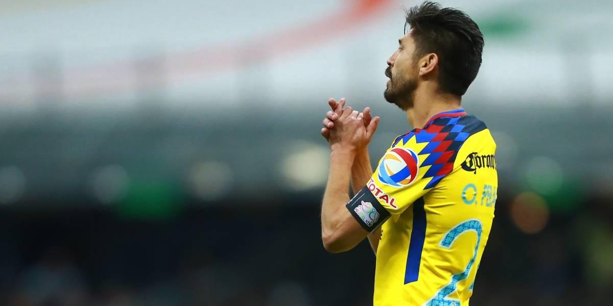 """América está hecho para remontar"", afirma Oribe Peralta"