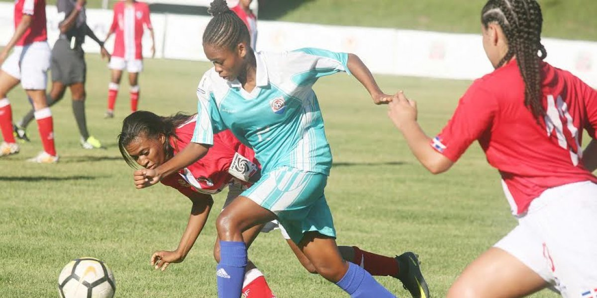 RD conquista su primera victoria en eliminatoria Mundial de Fútbol Femenino