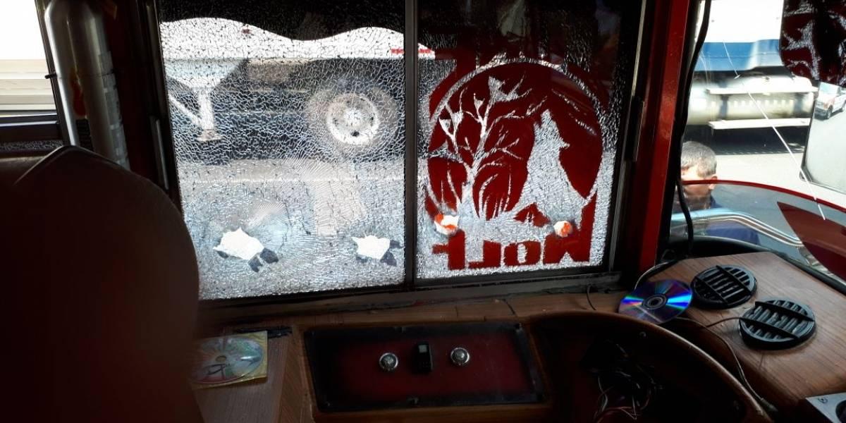 Ataque armado dentro de bus en ruta al Pacífico dejó una persona herida