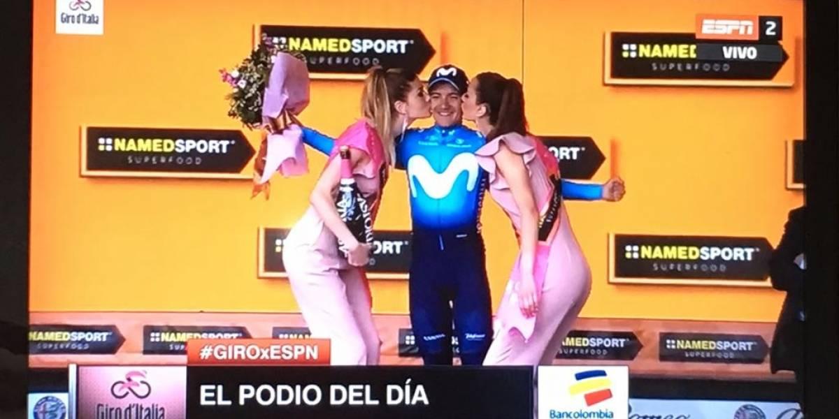 Ecuador: Richard Carapaz se impone en la octava etapa giro de Italia 2018