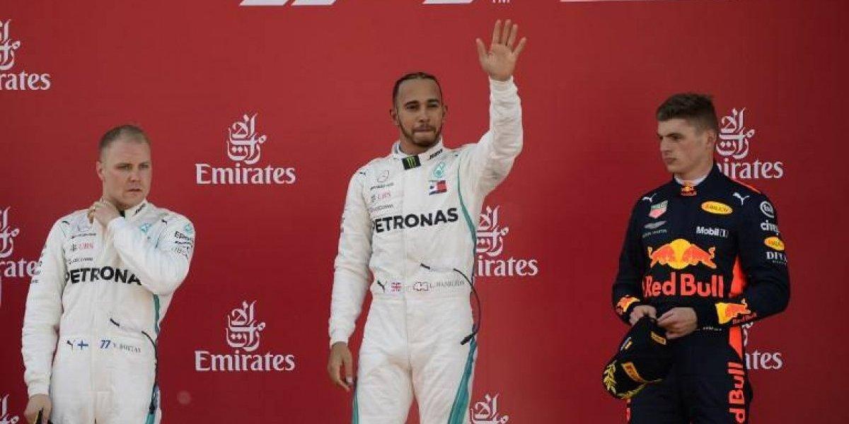Hamilton conquista España y sigue siendo el líder en la temporada de Fórmula Uno