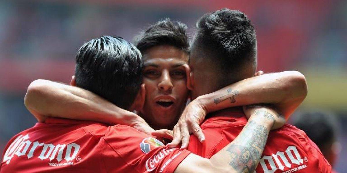 Toluca golea a Xolos y jugará la final del futbol mexicano