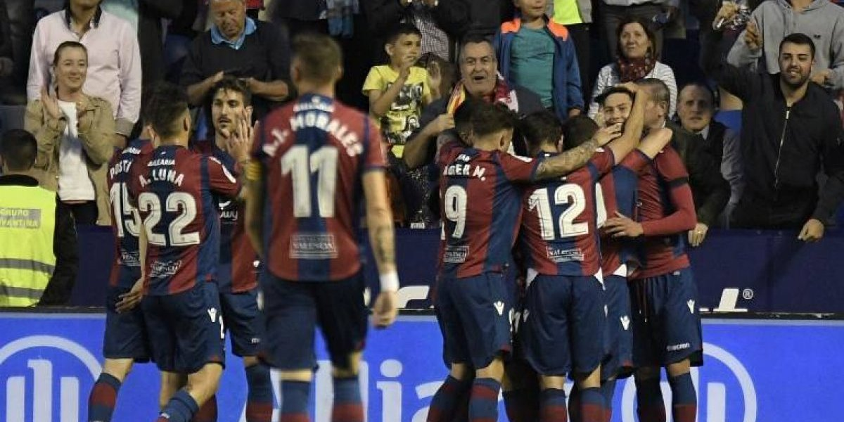 """Levante le hace """"una manita"""" al Barça y se queda con su invicto"""