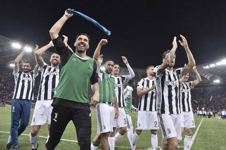 Los jugadores de la Juve celebraron un título más en la Serie A
