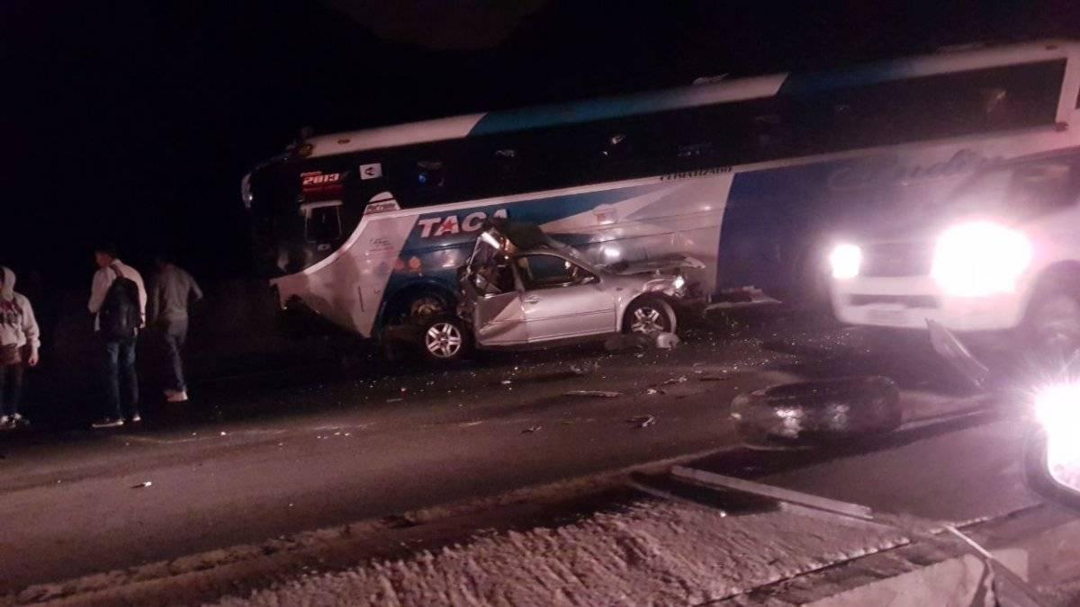 Cortesía Accidente de tránsito Guayllabamba