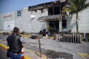 Incendio en centro comercial Galerías Primma