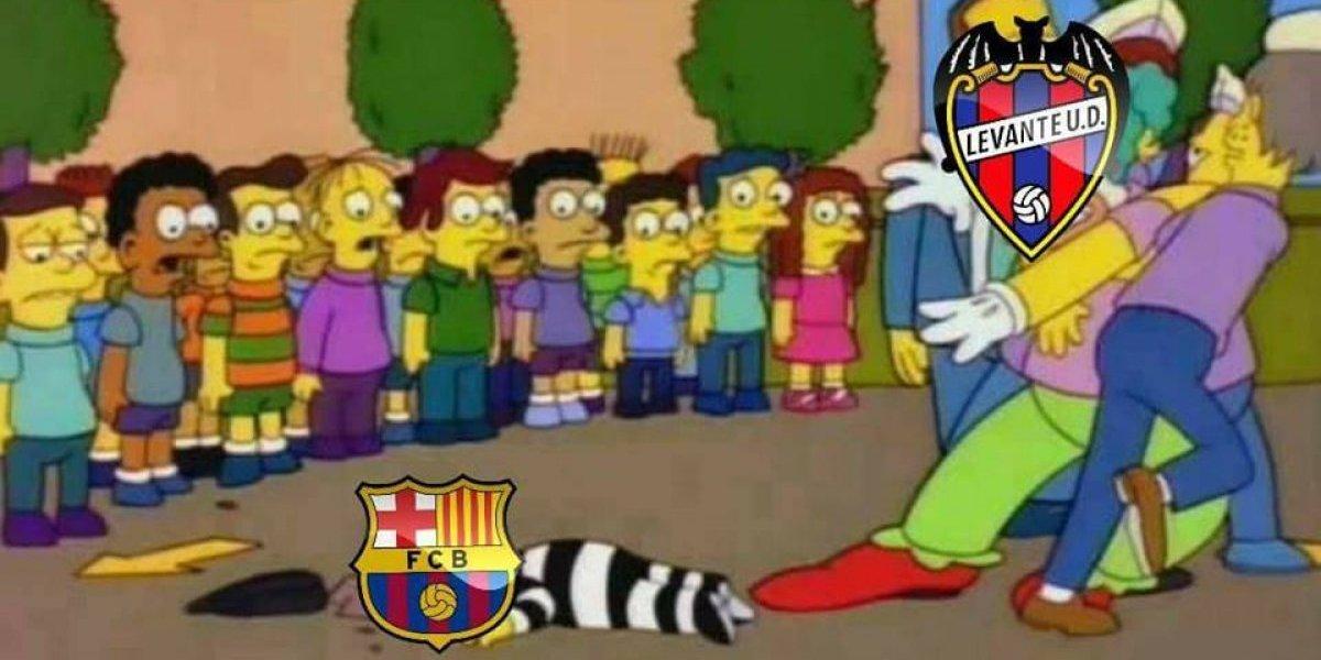 Los mejores memes de la derrota del Barcelona