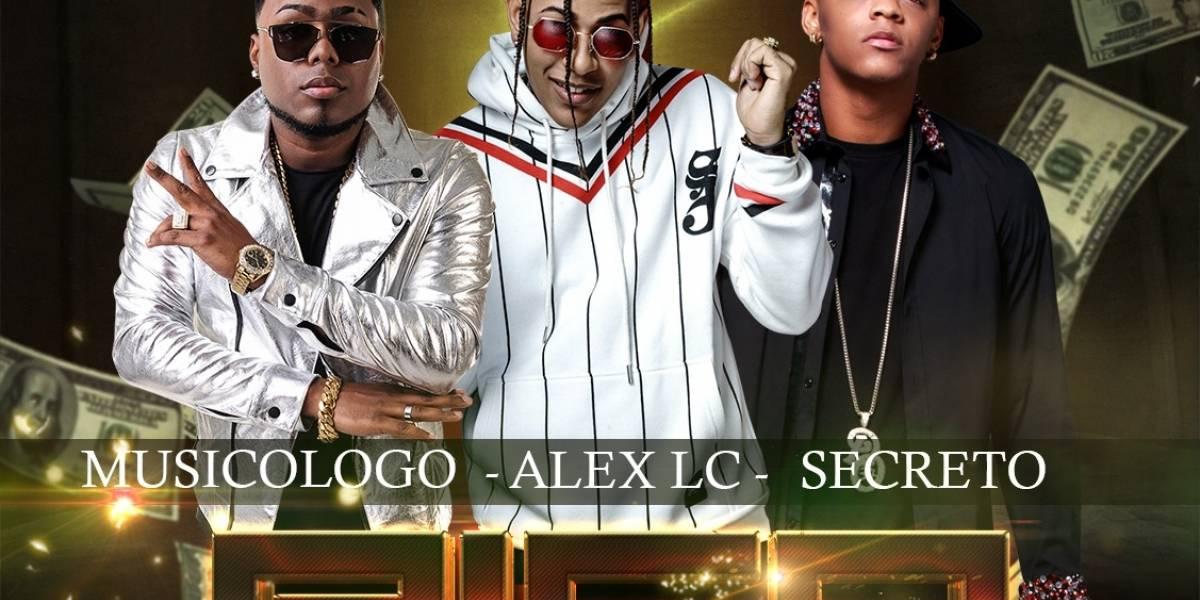 """Alex LC suena tema """"Rico"""" con Musicólogo y Secreto"""