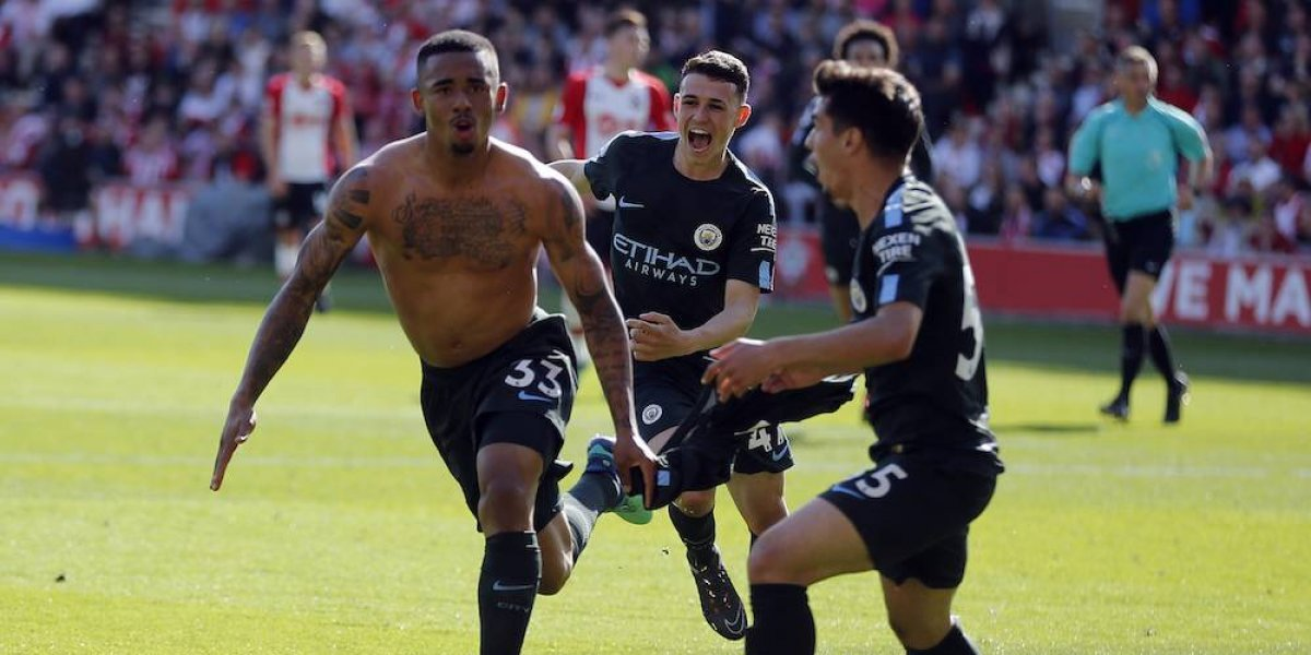 Manchester City hizo historia con 100 puntos