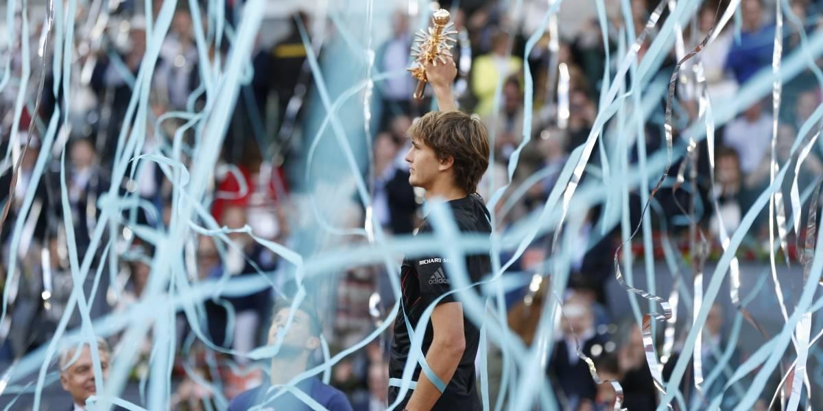 Zverev demuestra por qué es el futuro del tenis al ganar su tercer Masters 1.000 en Madrid