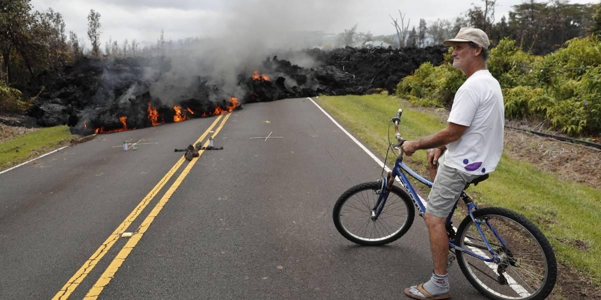 Nueva fisura volcánica obliga a más evacuaciones en Hawai