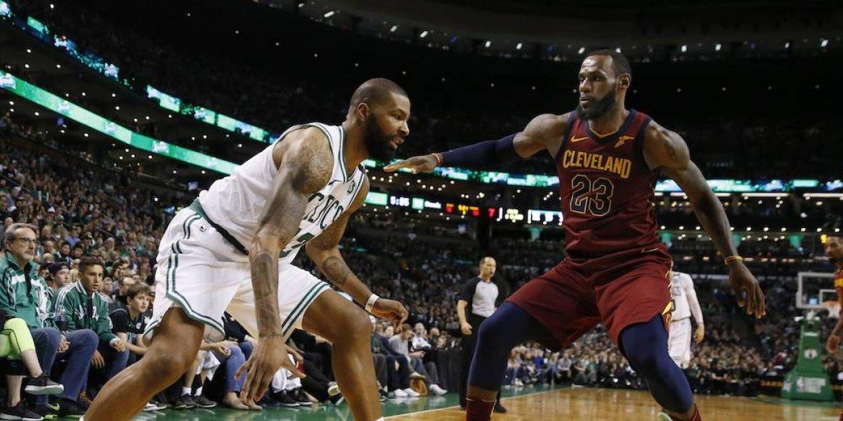 Celtics se impone sobre los Cavs en el inicio de la final del Este