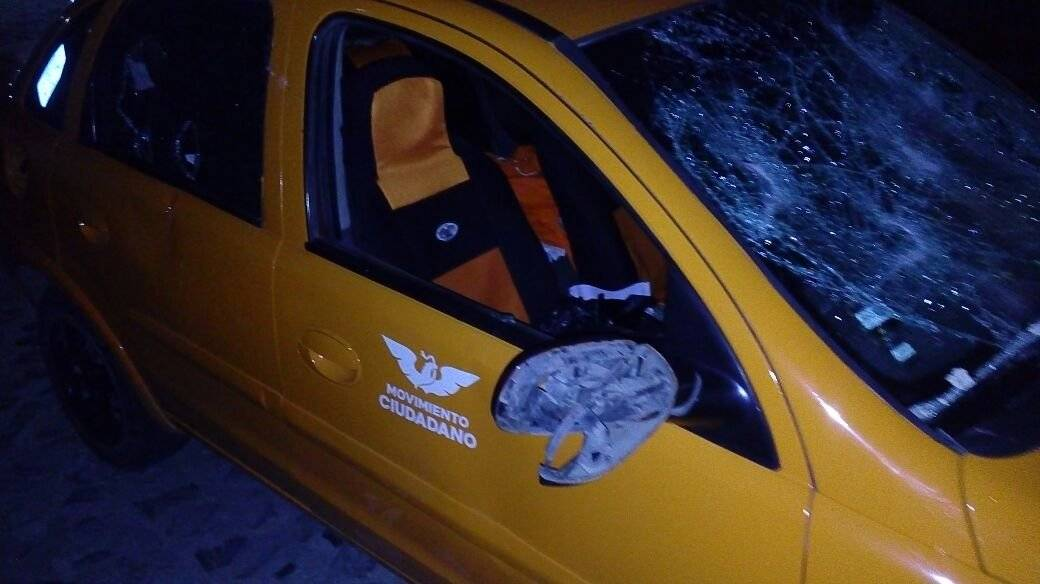 Acusan ataque a balazos y pedradas a militantes de MC en Chapala