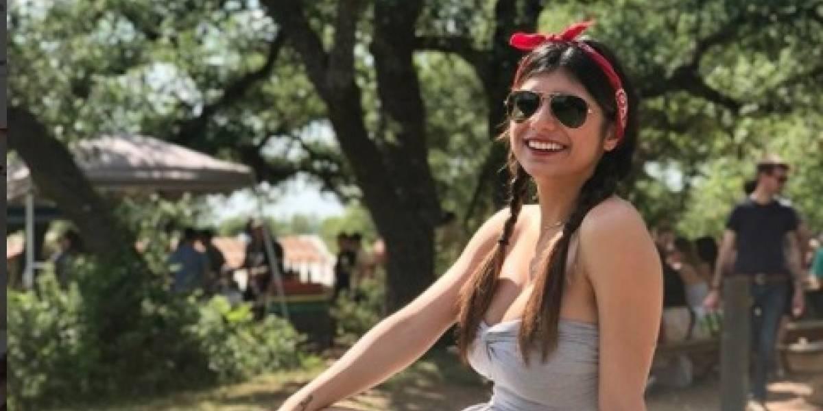 Estudiante expone sobre la vida de Mia Khalifa y el video se viraliza