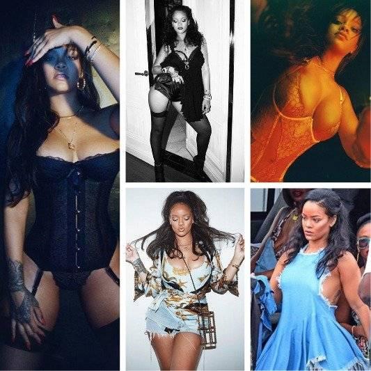Rihanna y su línea salvaje.