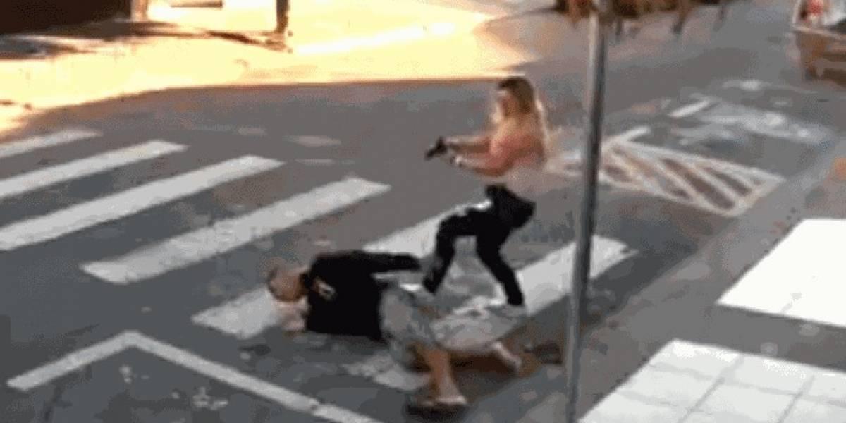 Mamá policía mata a balazos a ladrón en celebración del Día de las Madres en Brasil