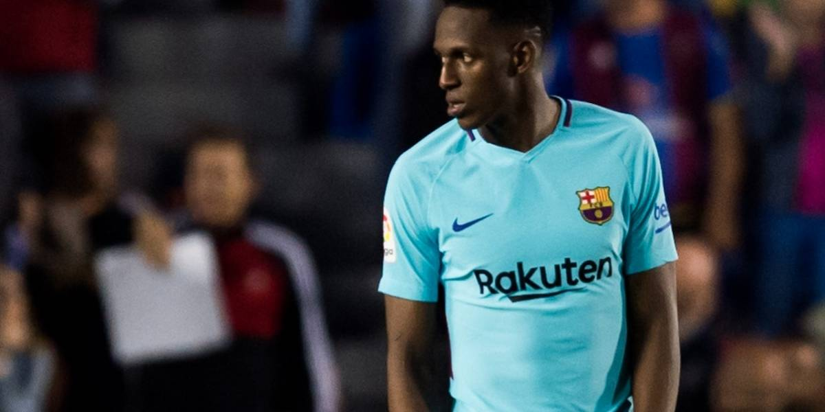 Fuertes críticas contra Yerry Mina tras el partido entre Barcelona y Levante