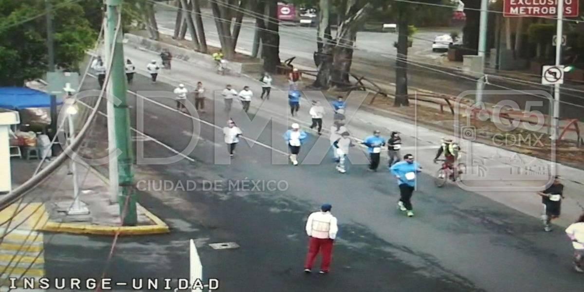 ¿Sabes qué avenidas está cerradas por las carreras atléticas en la CDMX?