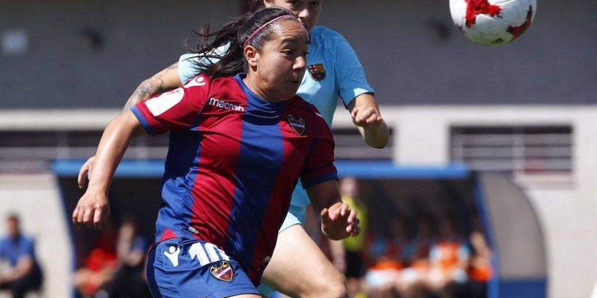 Charlyn Corral consigue el 'Pichichi' de la liga femenil de España