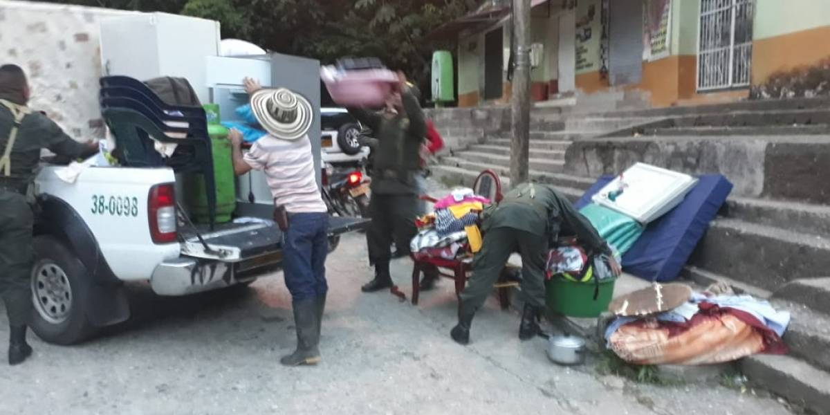 Autoridades ordenan evacuar cinco municipios de Antioquia por aumento del río Cauca