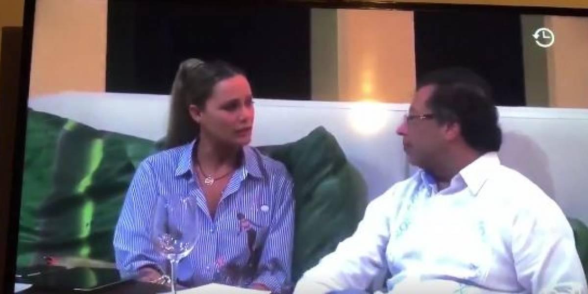 Las críticas a la entrevista de #SinEVAsivas a Gustavo Petro