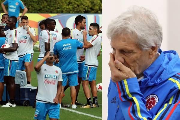 Tres futbolistas de la Selección Colombia sufrieron lesiones