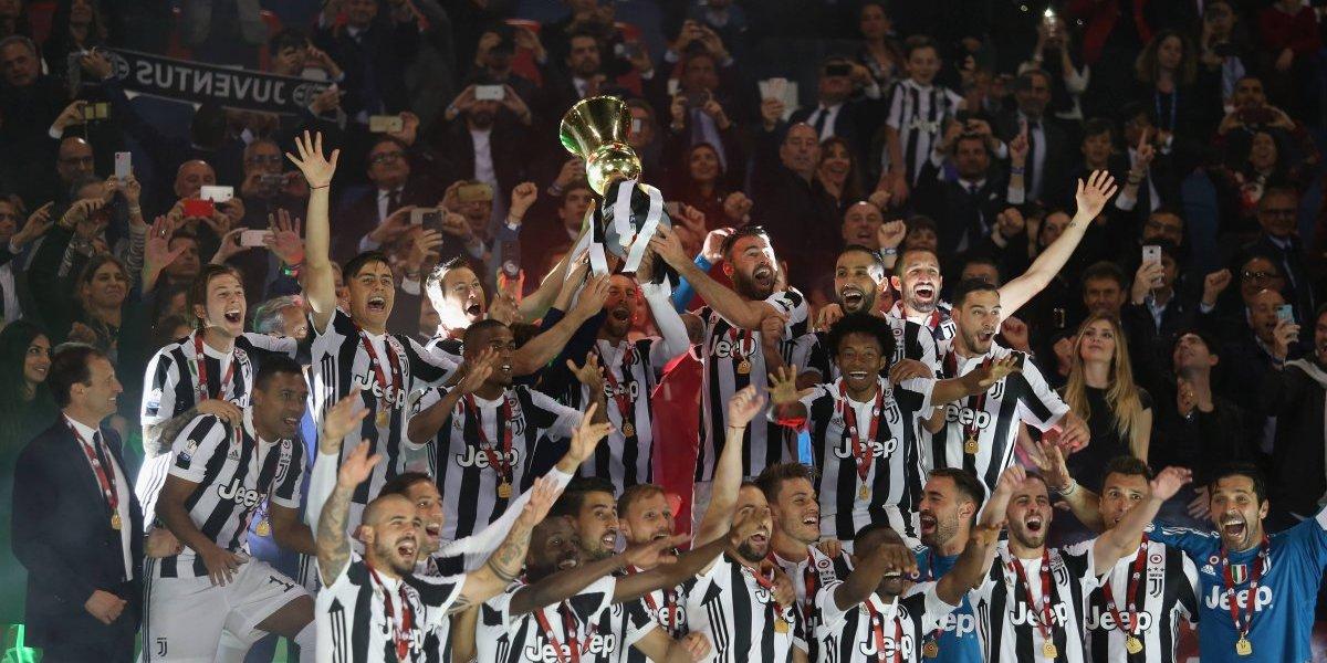 Juventus se corona por séptima vez consecutiva en Italia
