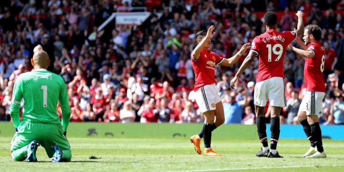 Alexis Sánchez cerró la Premier League con un triunfo que lo coronó subcampeón