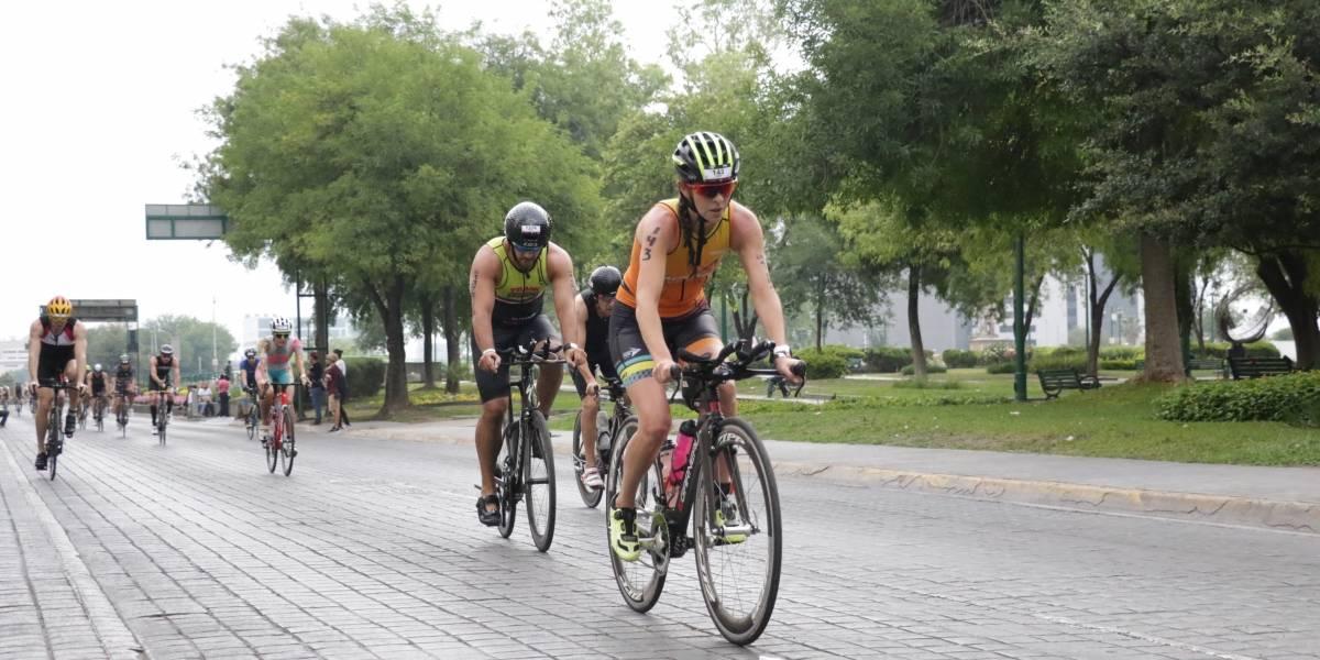 Se lleva competidor francés el Ironman regio