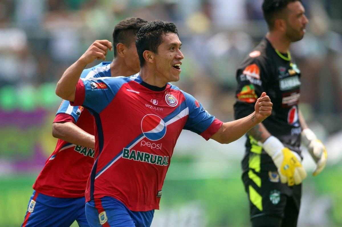 Así celebró su gol el mexicano Silva