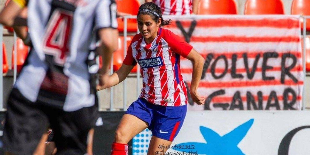 Kenti Robles volvió a coronarse con el Atlético de Madrid femenil