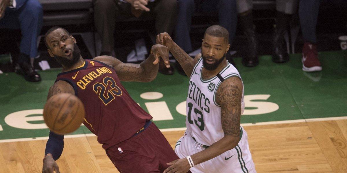 ¡Celtics! Imponen su ley ante el Rey James