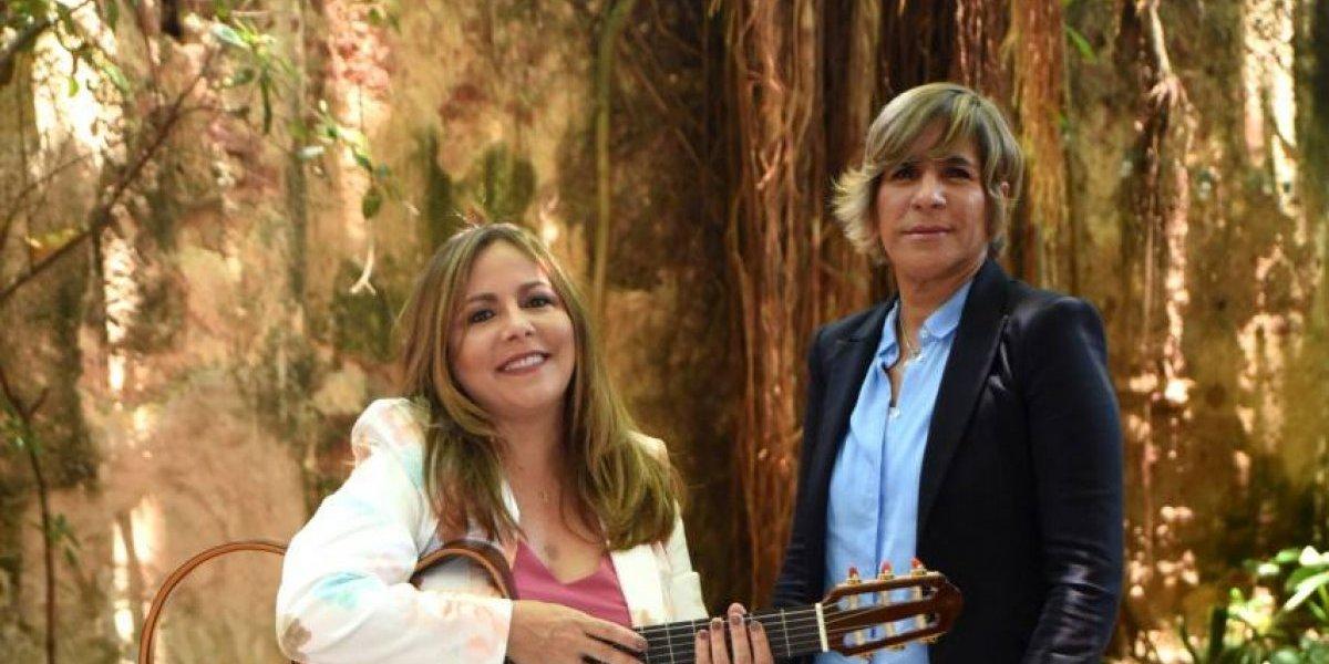 Liuba María Hevia y Desiree Jiménez en un recital para los amantes de la trova y la poesía