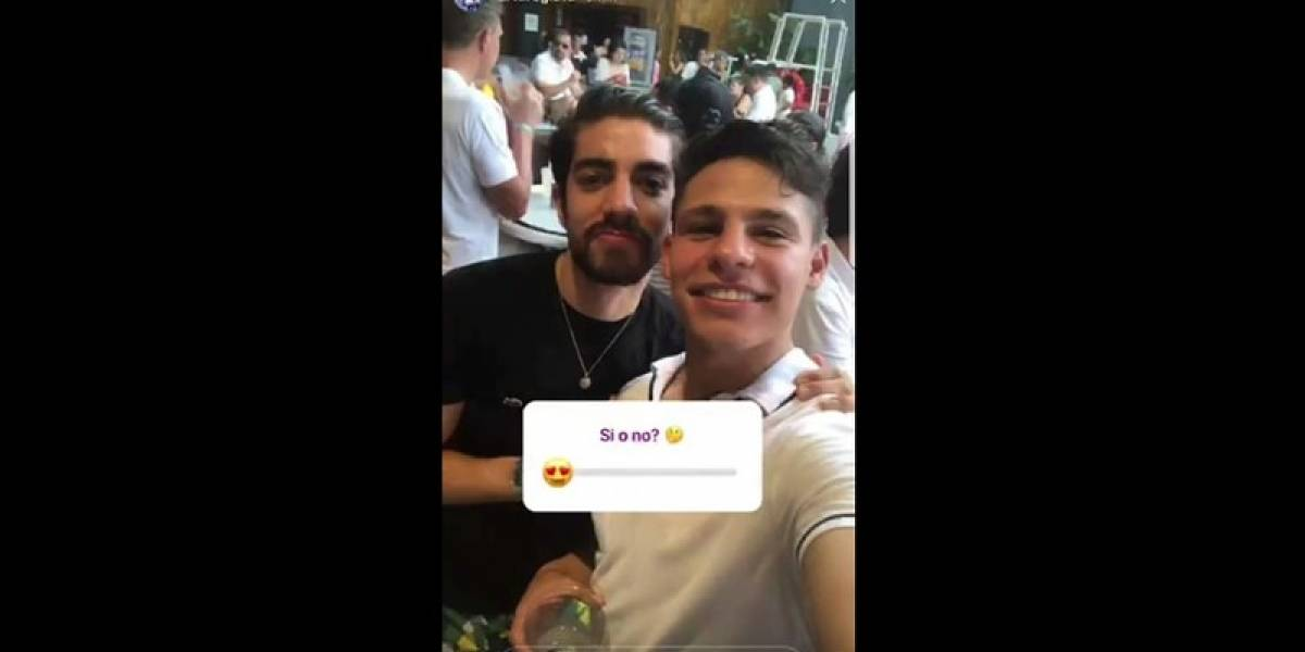'Ponchito' González causa polémica por foto con Pizarro