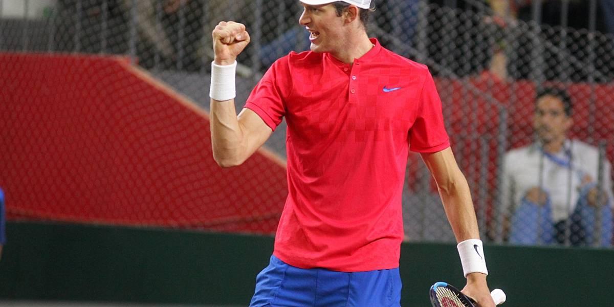 Nicolás Jarry obtuvo un triunfazo y entró al cuadro principal del Masters 1000 de Roma