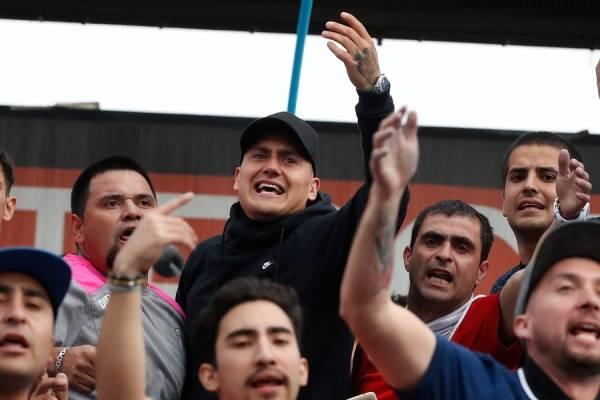 Castillo vibró en el Clásico Universitario mientras define su cambio de club / Foto: Photosport