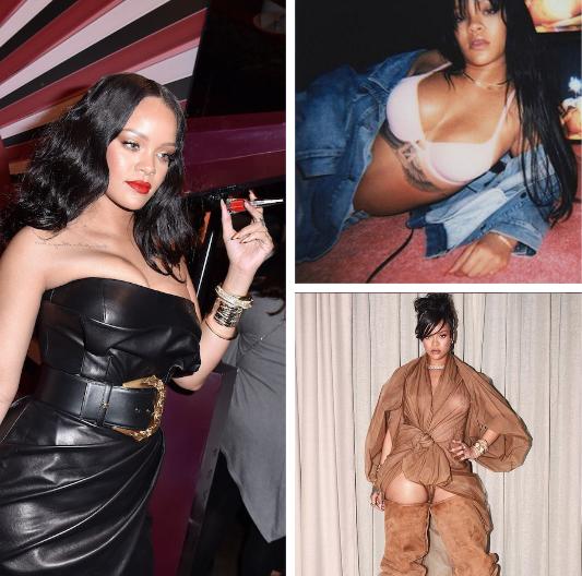 Las curvas de Rihanna.