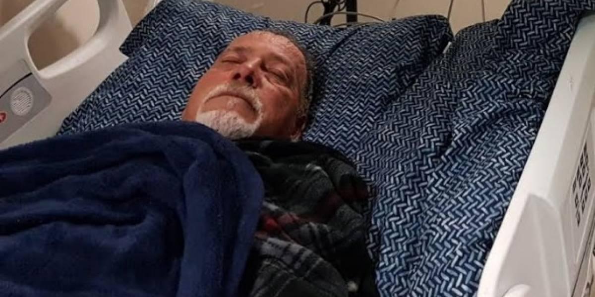 Hospitalizado peleador 'Chicky Starr' por aneurisma abdominal