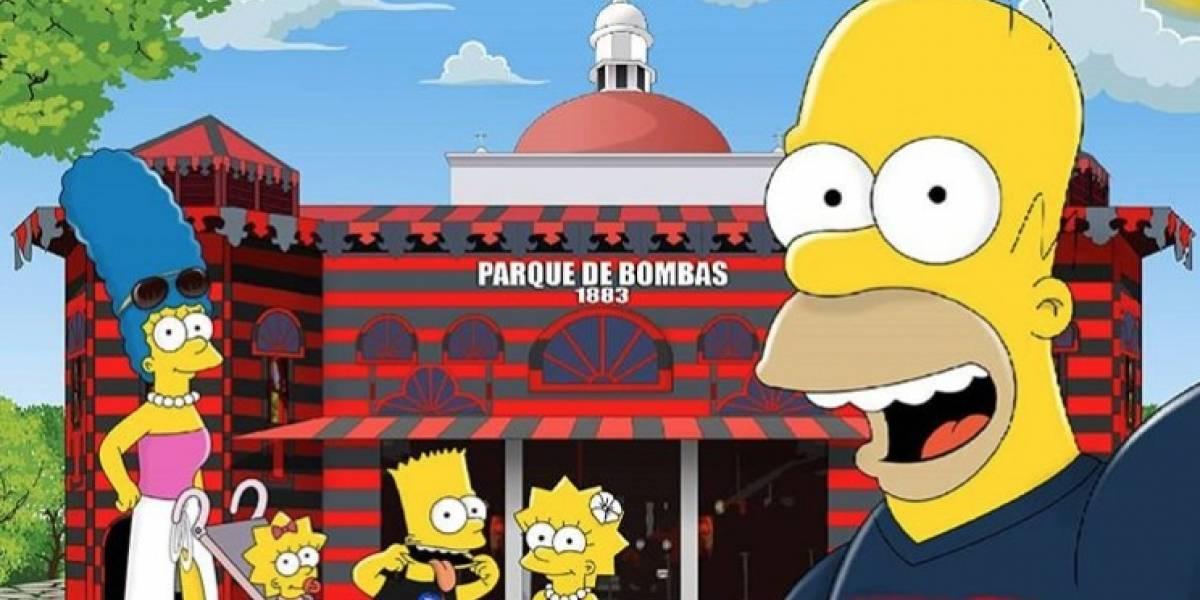 Los Simpson andan turisteando por la Isla del Encanto