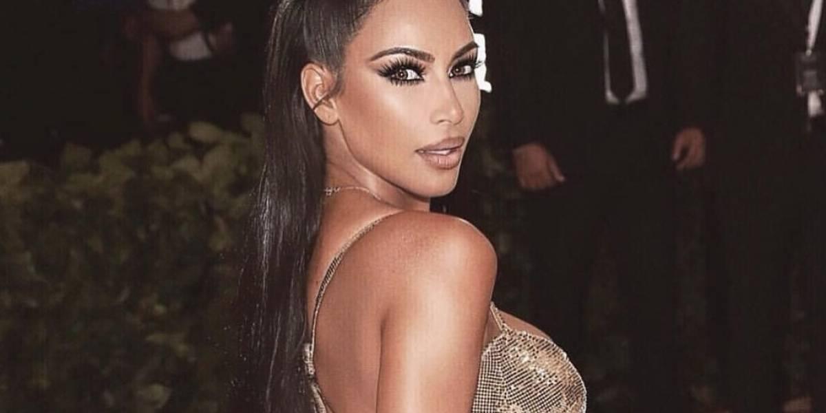 Kim Kardashian usó pantalones transparentes y este fue el resultado