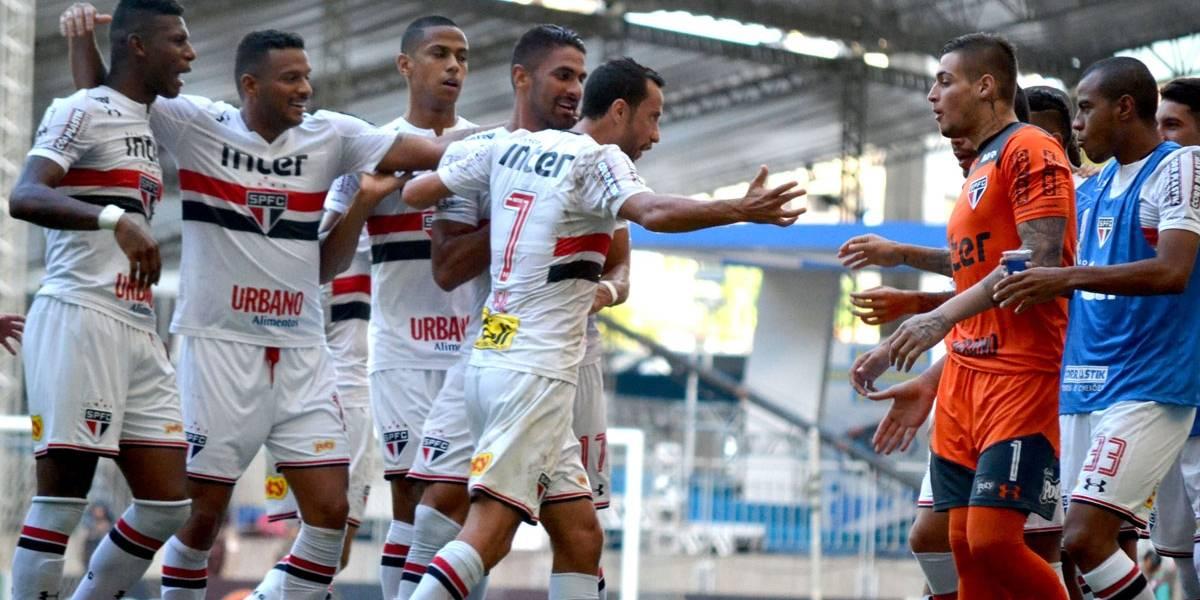 Com gol nos acréscimos, São Paulo empata com Bahia e segue invicto no Brasileirão