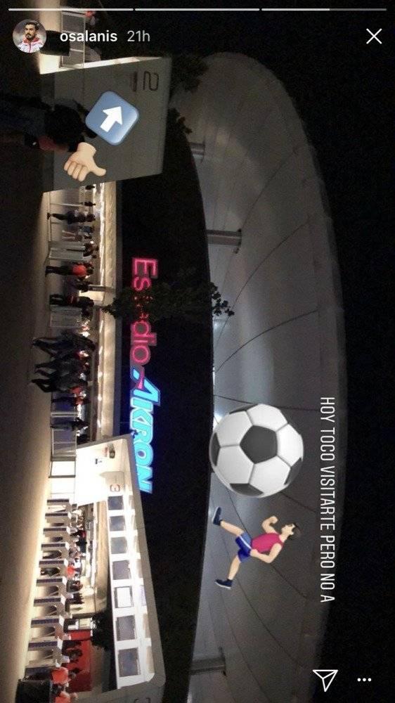 Futbolistas gozan con Maroon 5 en Guadalajara